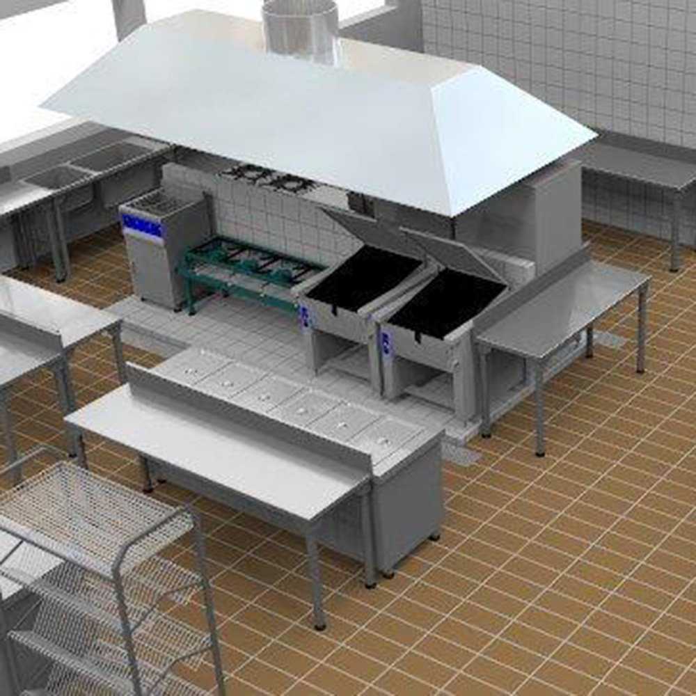 Design A Commercial Kitchen: Catering Supplies And Commercial