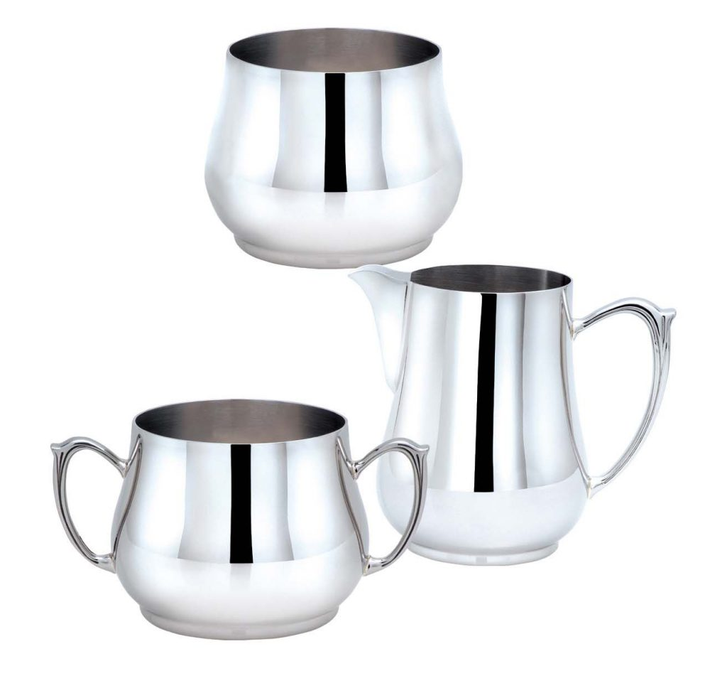 SUGAR BOWL / MILK JUG/ CREAMER (Note: Please specify order code for correct sizes/product when placing order)