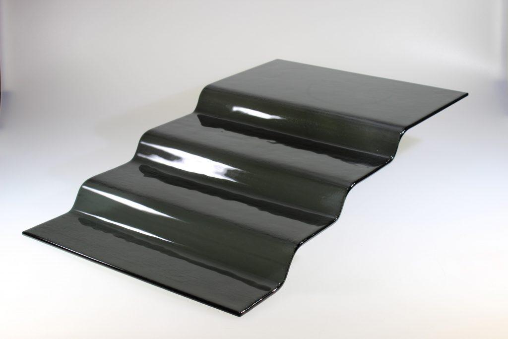 GLASS SERVING & BUFFETWARE RANGE -4 STEP STAND – DARK GREY – 66 x 40 x 13cm