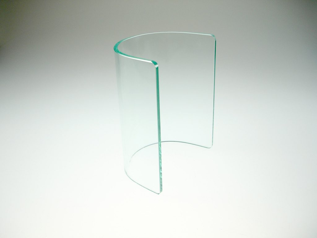 GLASS SERVING & BUFFETWARE RANGE -BRIDGE LARGE CLEAR (FITS WITH 7 STEP STAND)