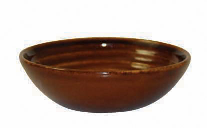 BIT ON THE SIDE – RIPPLE CINNAMON RANGE DIP DISH 11.3cm (12)