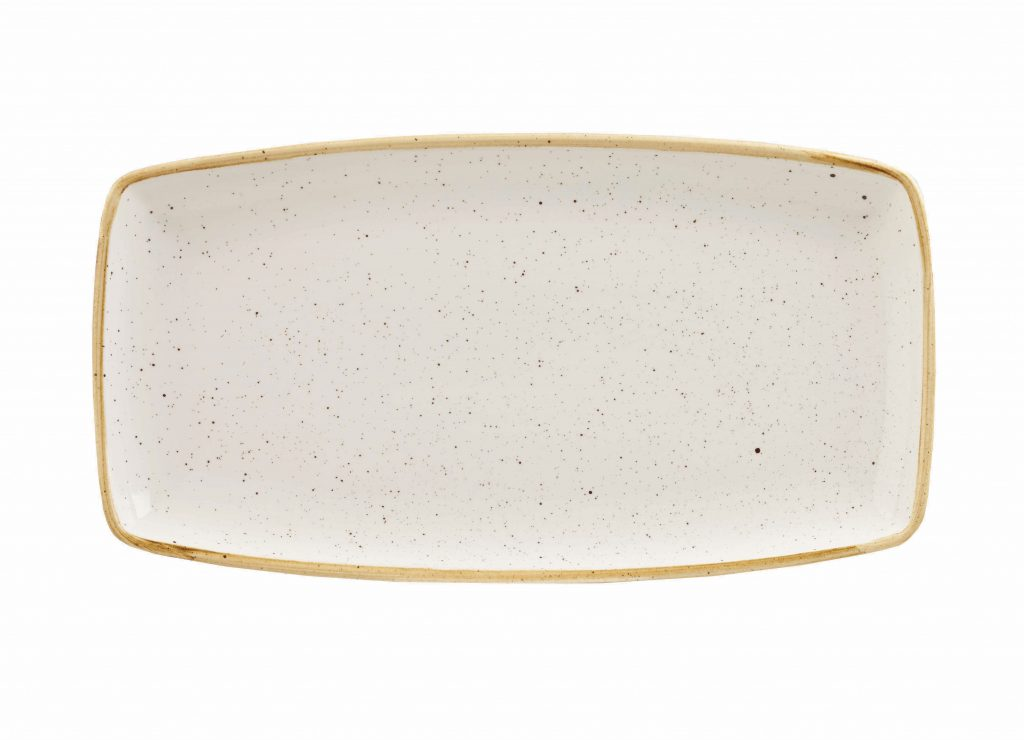STONECAST – BARLEY WHITE OBLONG PLATE (Note: Please specify order code for correct sizes/product when placing order)