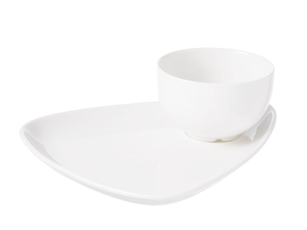 CHURCHILL ACCESSORIES-TRIANGULAR SNACK PLATE (Note: Please specify order code for correct sizes/product when placing order)