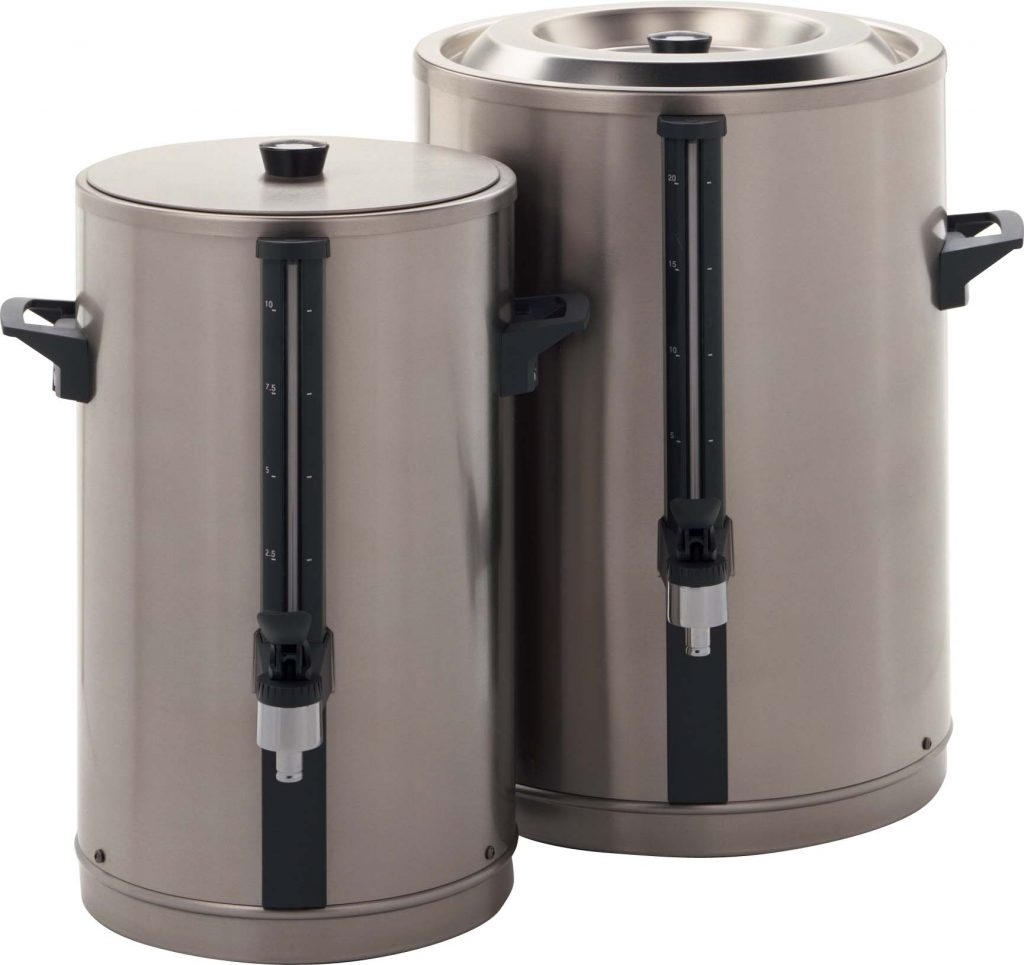 BULK BREWER URN BRAVILOR (Note: Please specify order code for correct sizes/product when placing order)
