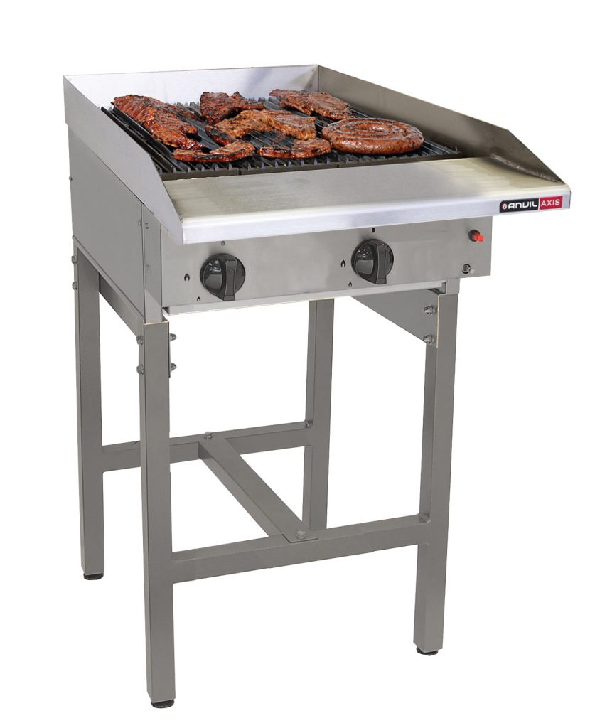 FREE STANDING GAS GRILLERS- 4 BURNER RADIANT – FREE STANDING