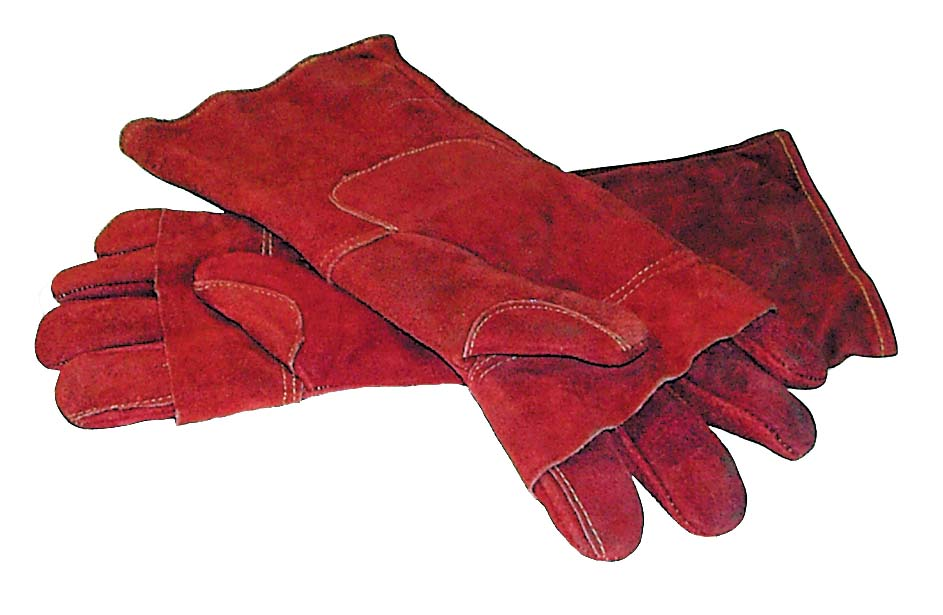 OVEN MITT LEATHER – 400mm – PAIR