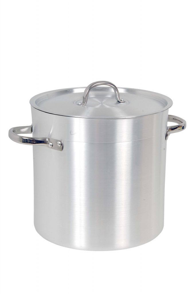 STOCK POTS WITH LIDS (Note: Please specify order code for correct sizes when placing order)