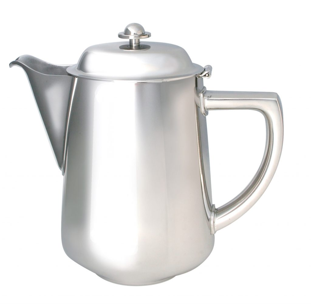 STAINLESS STEEL RANGE -OVALINA COFFEE POT (Note: Please specify order code for correct sizes when placing order)