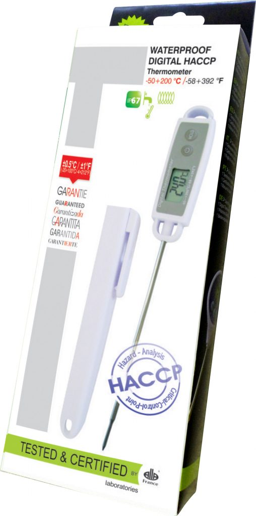 THERMOMETERS DIGITAL HACCP (-20°C to 100°C)