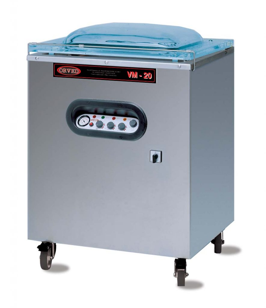 IN CHAMBER VACUUM PACK MACHINE- VM20 (ON REQUEST ONLY)