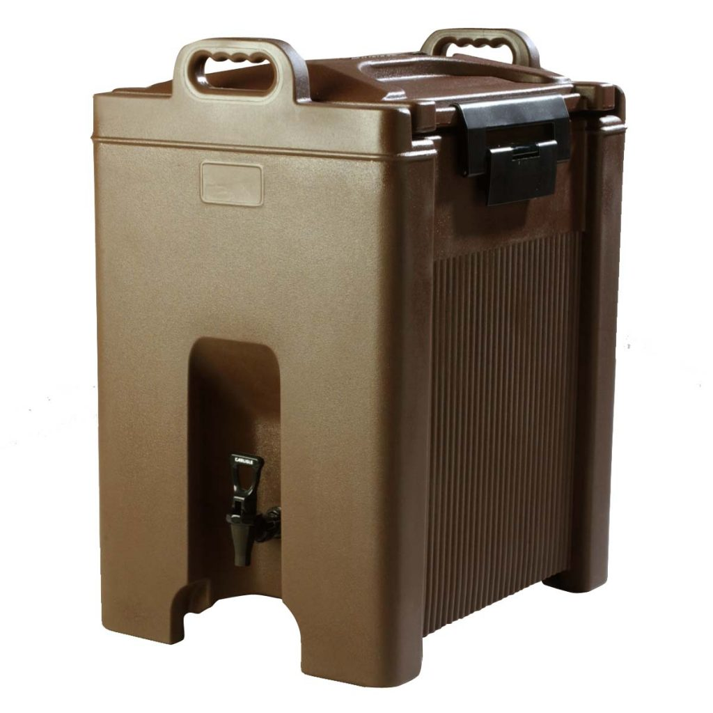BEVERAGE SERVERS INSULATED- 38Lt – BROWN – 416 x 524 x 678mm – 13.8kg