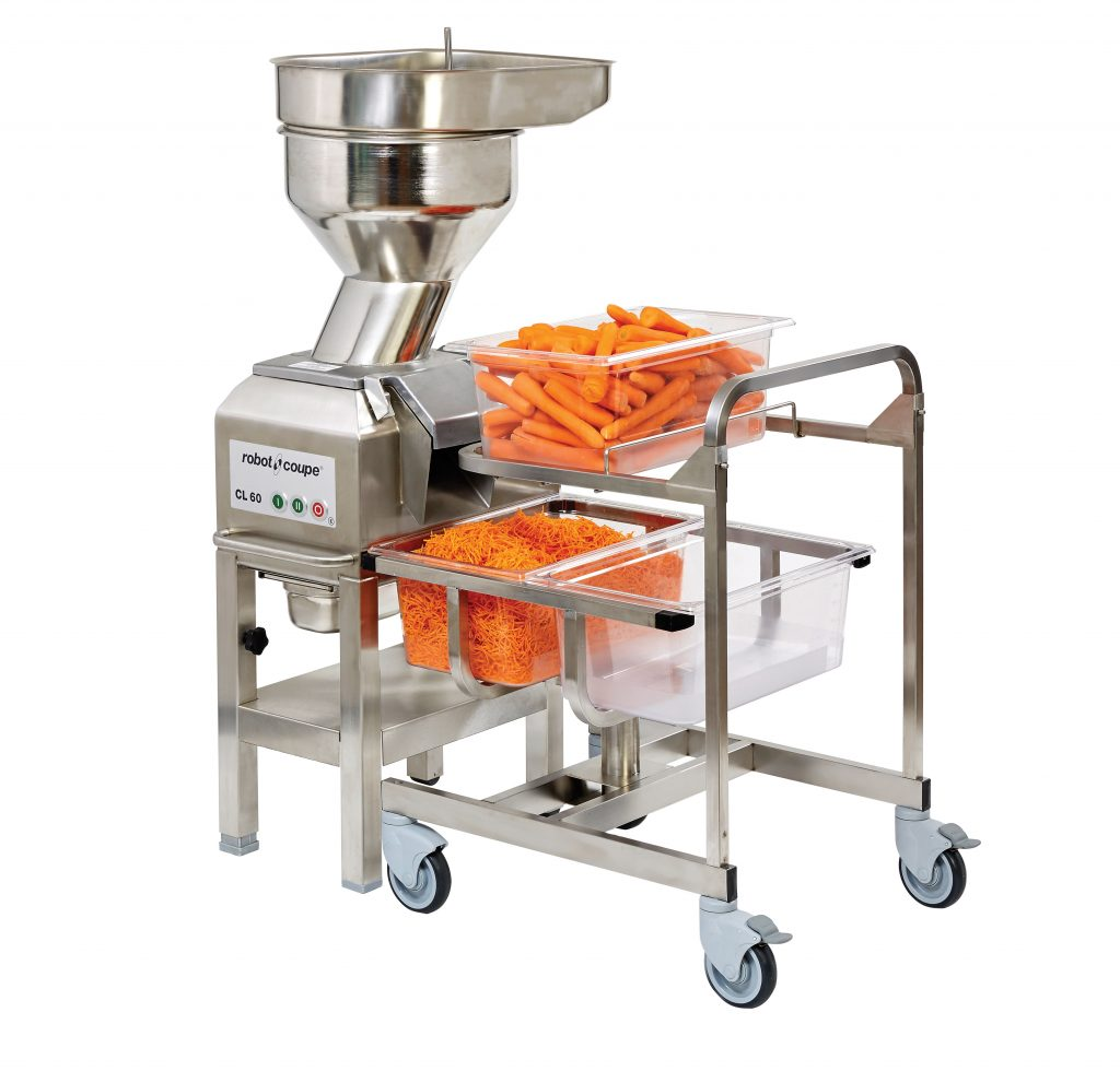 VEGETABLE PREPARATION MACHINES – CL60 PUSHER FEED HEAD ONLY