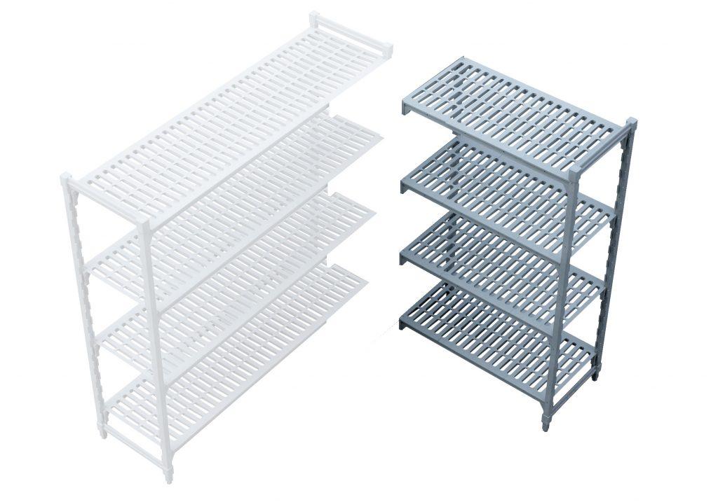 PLASTIC SHELVING CORNER UNIT- 910 x 530 x 1800mm